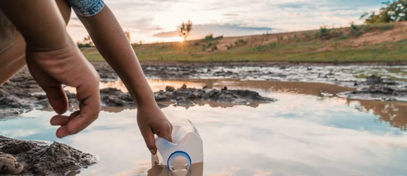 la mancanza di acqua è dovuta a tanti fattori