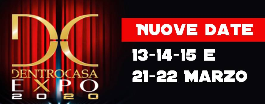 Nuove date Dentrocasa Expo Brescia 2020
