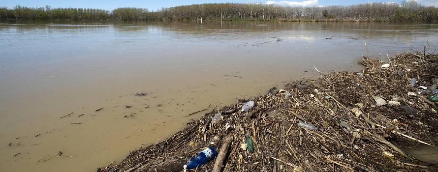 uno dei fiumi più inquinati è il Po