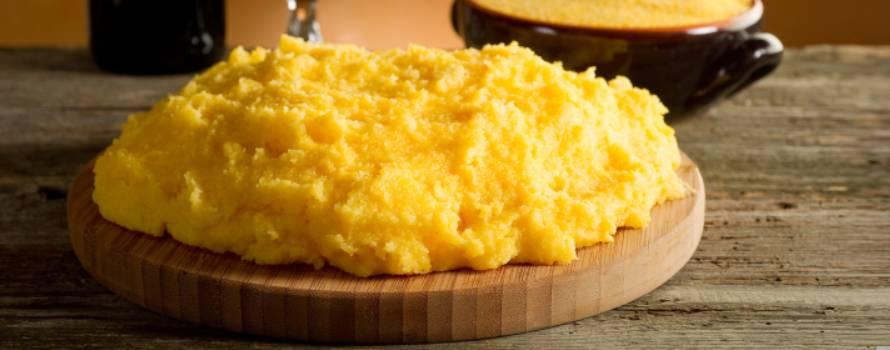 Ricetta per polenta con acqua di qualità