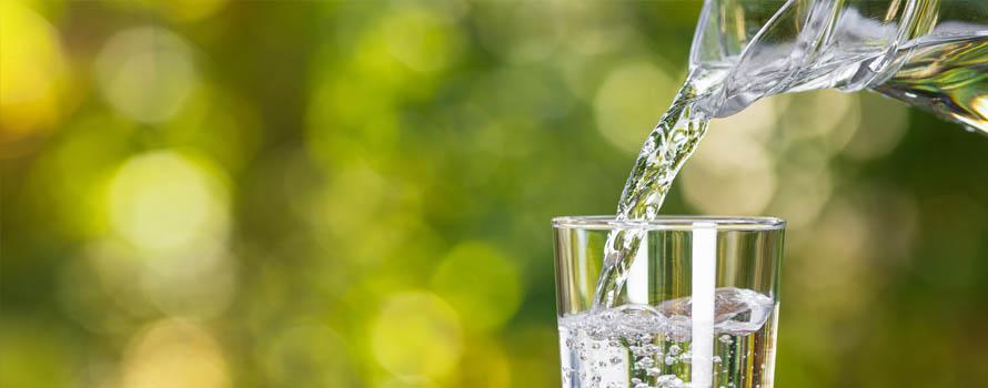 Acqua da bere e benessere