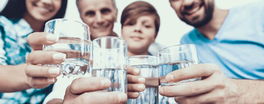 Purificatore acqua per la famiglia