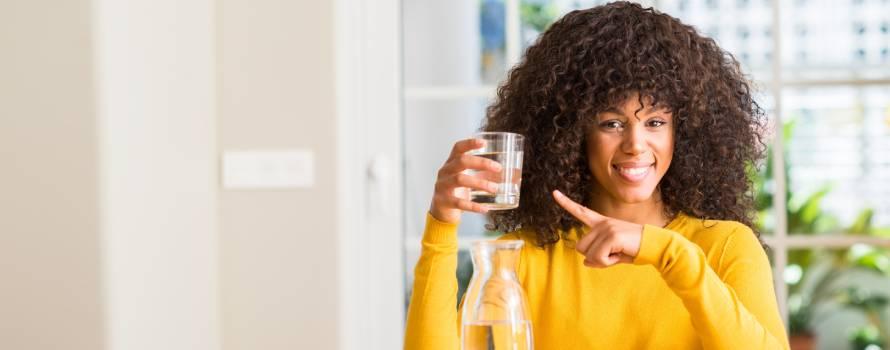 bere molta acqua nell'arco della giornata