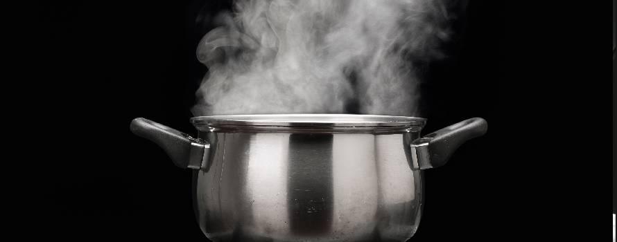 la giusta quantità di acqua per cucinare a vapore