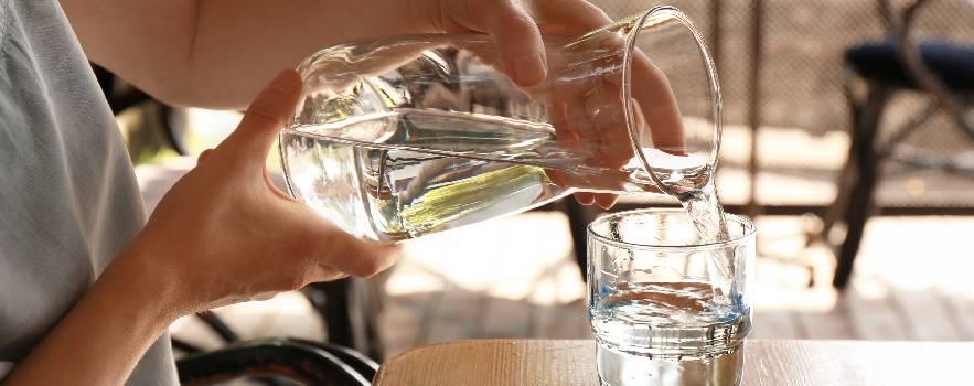 bere acqua pura a domicilio