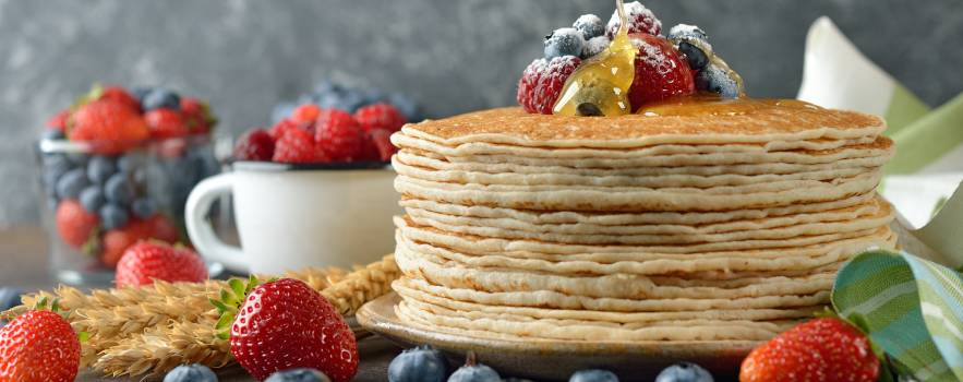 crepes con acqua, pochi ingredienti ma di qualità