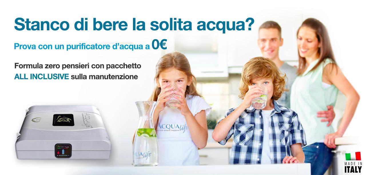 depuratore acqua domestico in offerta