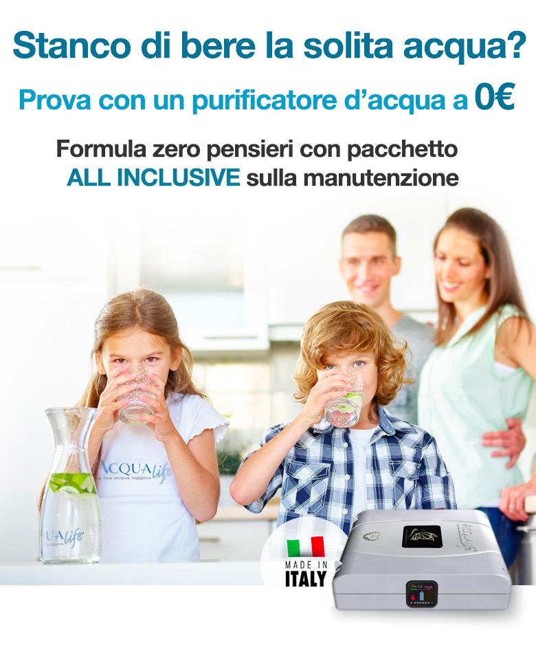 depuratore acqua domestico in offerta Acqualife