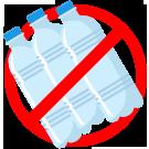 niente più bottiglie da trasportare a casa e smaltire plastica