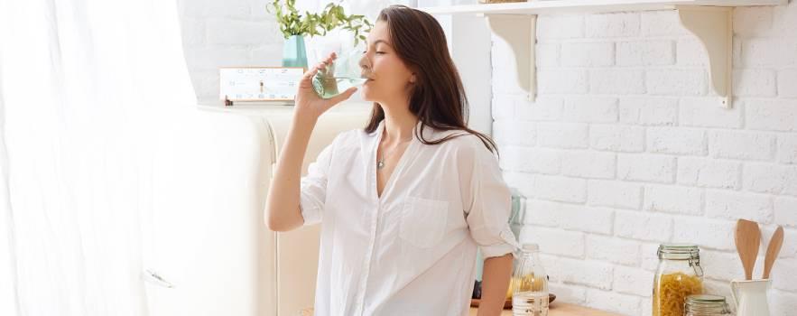 bere acqua fresca dal rubinetto di casa